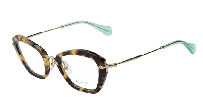 0c9c6668de4c Image Unavailable. Image not available for. Colour  Miu Miu Eyeglasses  VMU05N Women 100% Authentic 50MM
