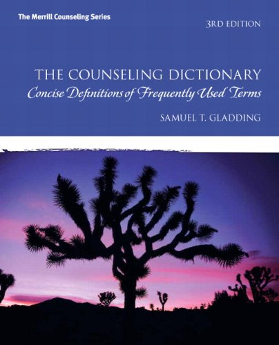 The Counseling Dictionary: Concise Definitions of Frequently Used Terms (3rd Edition)