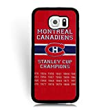Wonderful Samsung Galaxy S6 Phone Case Montreal Canadiens Series, Galaxy S6 Case for Teen -NHL