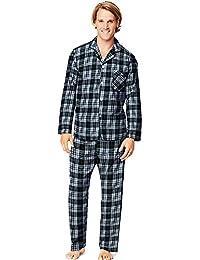 Hanes Mens Woven Pajamas LSLLBCWM/LSLLBCWMB