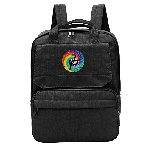Oxford Paul Womens Fashion JP Casual Jake Logo Backpack Rainbow Shoulder Black wX4qfgwdKp