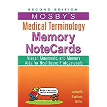 Mosby's Medical Terminology Memory NoteCards - E-Book
