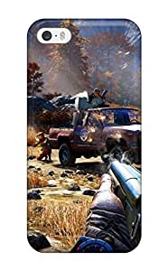 Cute Appearance Cover/tpu JNRheQF13300LvQwA Far Cry 4 Case For Iphone 5/5s