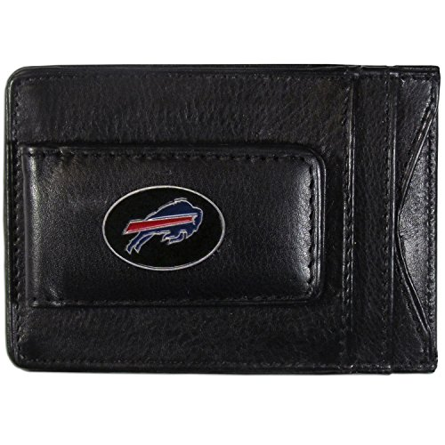 NFL Buffalo Bills Leather Money Clip (Buffalo Bills Nfl Leather)