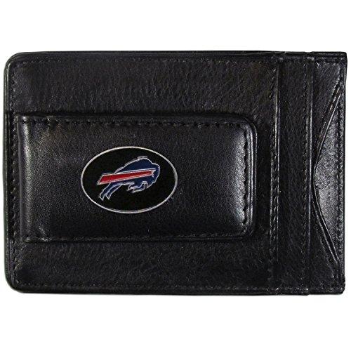 NFL Buffalo Bills Leather Money Clip Cardholder