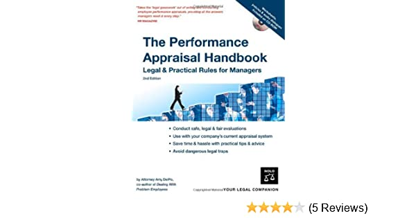 The Performance Appraisal Handbook: Legal & Practical Rules for ...