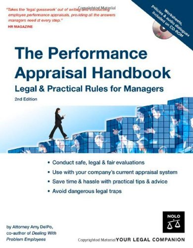 The Performance Appraisal Handbook: Legal & Practical Rules for Managers (Best Appraisal Management Companies To Work For)