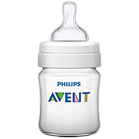 AVENT BIBERON PP NATURAL 125ML + CHUPETE INICIO: Amazon.es: Bebé