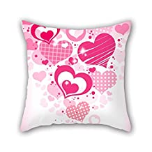 18 X 18 Inches / 45 By 45 Cm Love Pillow Covers Two Sides Ornament And Gift To Lounge Gril Friend Festival Sofa Monther Club