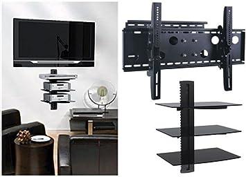 2 x casa – nuevo soporte de pared para televisor (brazo único ...