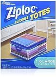 Ziploc Flexible Totes, Extra Large-1 ct (Quantity of 4)