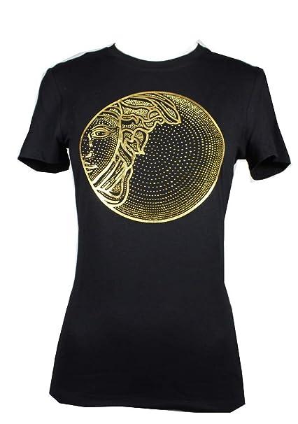 l'atteggiamento migliore 2a783 1af5f Versace Collection Donna Maglia T-Shirt Nero Primavera ...