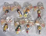 Banpresto Super Robot Wars heroine figure key chains all eight (Aim for the Top Mazinger Z Great Mazinger GoShogun Aura Dunbine Heavy Metal L-Gaim Cybaster)