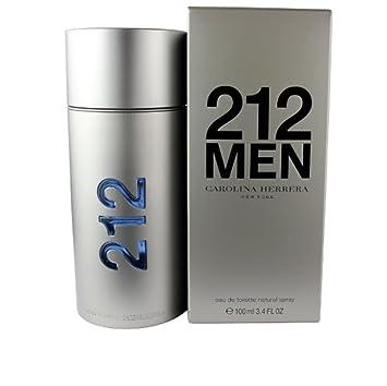 170b539ac9 Amazon.com : CAROLINA HERRERA 212 MEN EDT SPRAY 100ML 3.4OZ NEW : Beauty