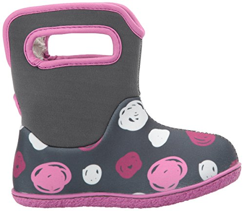 Multi Dots Penguins Bogs Boot Baby Sketch Winter Dark Grey Snow Classic Awvwg
