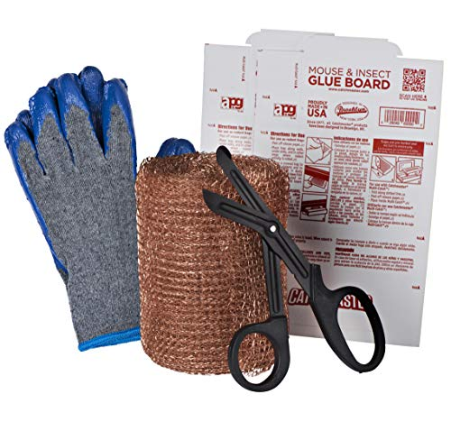 Mice Lock Copper mesh for Rodent and Pest Control Kit, with Traps