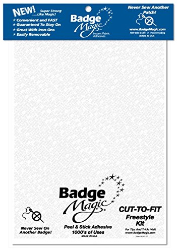 (Badge Magic Cut to Fit Freestyle Kit/Adhesive)
