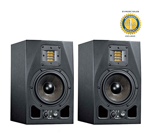 Adam Audio A5X 5.5' 100W Active 2-Way Studio Monitor (Pair) wth 1 Year Free Extended Warranty