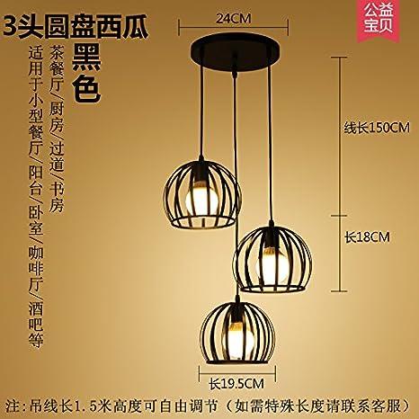 Sun Deng comedor estilo nuevo campo pequeño viento lámpara ...