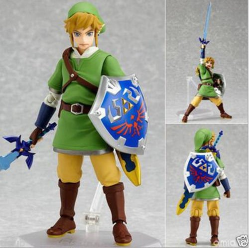 [Max Factory Figma No.153 Link The Legend of Zelda Skyward Sword Action Figure] (Robin From Arkham City Costumes)