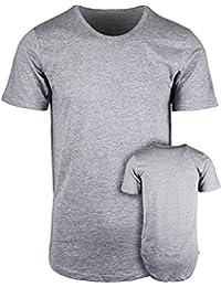 ShirtBANC Mens Hipster Hip Hop Long Drop Tail T Shirts