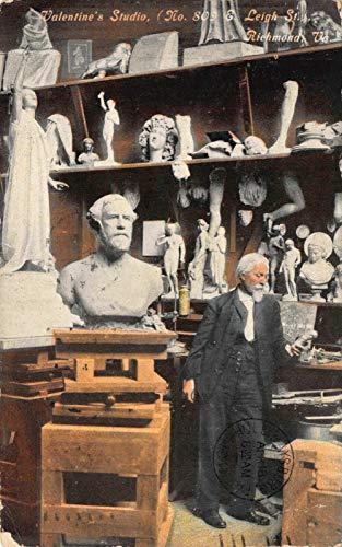 (Postcard Edward V. Valentine Sculpture Studio in Richmond, Virginia~122347)