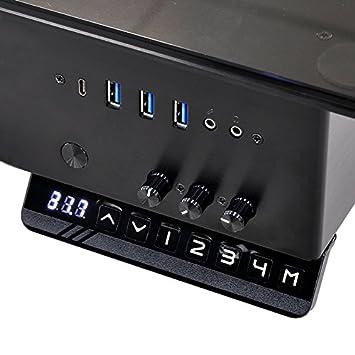 Lian Li Dk 05x Tischgehäuse Schwarz Amazon De Computer Zubehör