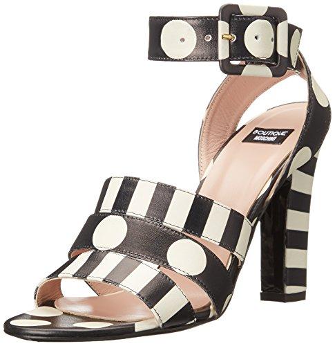 Boutique Moschino Women's Stripes and Polka Dots Dress Sa...