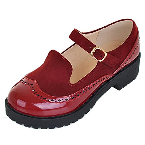 Red Shoes Gladiator Women's Gladiator Taoffen Red Shoes Women's Taoffen Taoffen P861wq15A