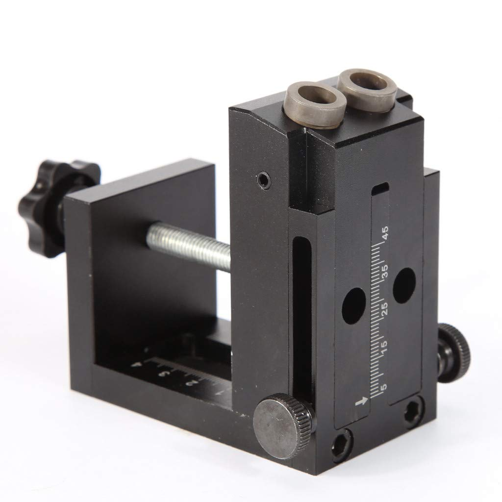 Wabaodan Woodworking Oblique Hole Locator Hole Drilling Guide Kit Furniture Puncher Drilling Holes by Wabaodan (Image #3)