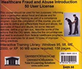 Healthcare Fraud and Abuse Introduction 50 User License, Farb, Daniel, 159491222X