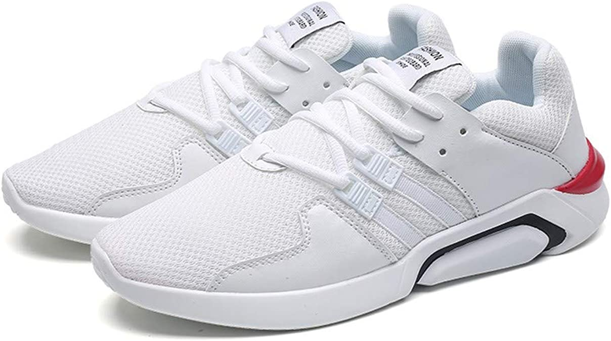 Logobeing Zapato Deportivo Hombre Outlet Playeras Padel Trail Zapatillas Sneakers Calzado Deportivo Caminar Cordones Zapatos para Correr(44,Blanco): Amazon.es: Zapatos y complementos