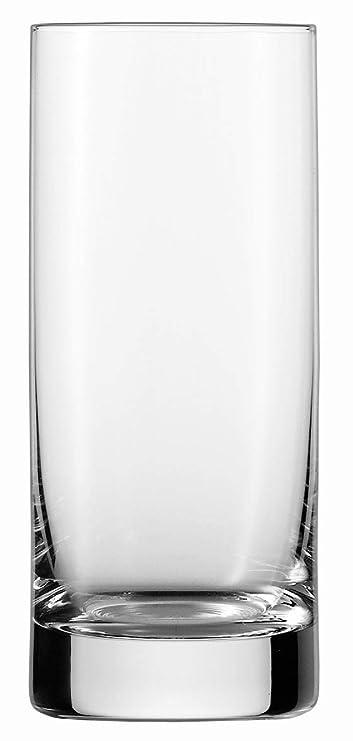 Schott Zwiesel 7544375 Paris-Scatola di 6 Bicchieri Alti 6x6x14,2 cm Trasparente Motivo: Cristallo Trasparente Cristallo