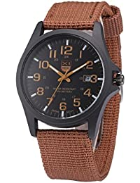 Outdoor Date Stainless Steel Military Sports Analog...