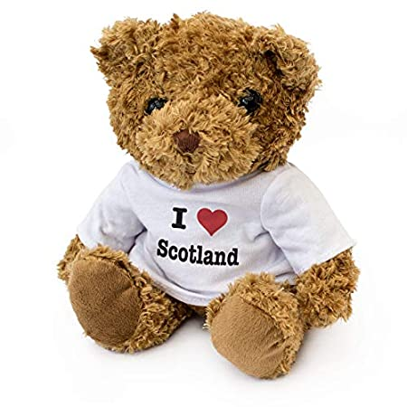 I LOVE SCOTLAND- Teddy Bear – Cute Soft Cuddly – Gift Present Birthday Xmas 51ObuDbB3NL