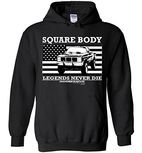 Square Body Legends Chevy GMC Hoodie SQUAREBODY - Scottsdale Square