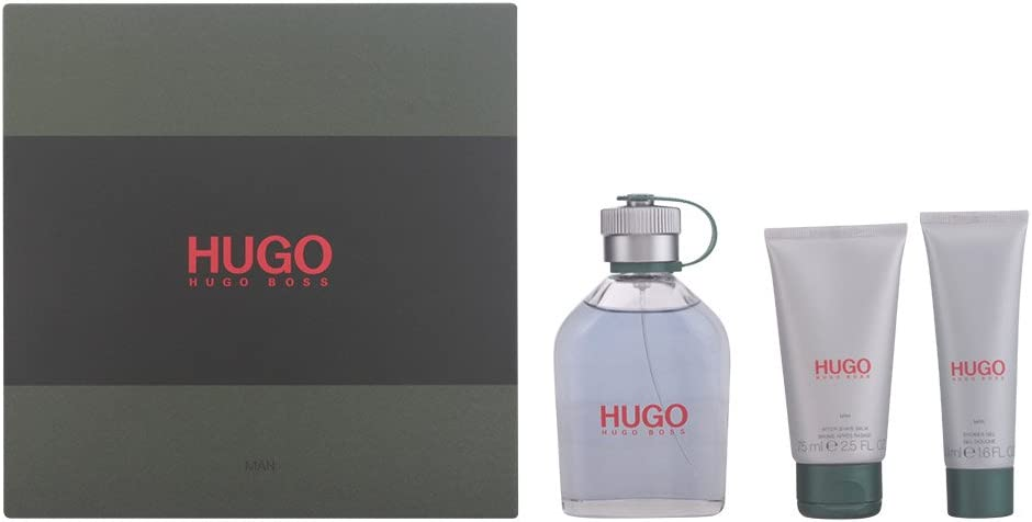 Hugo Boss 61053 - Set Eau de Toilette 125 ml, Gel de ducha 50 ml, Bálsamo Después del Afeitado 75 ml: Amazon.es: Belleza