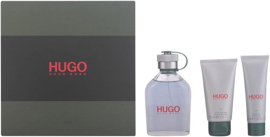 Hugo Boss 61053 - Set Eau de Toilette 125 ml, Gel de ducha 50 ml, Bálsamo Después del Afeitado 75 ml: Amazon.es: Belleza