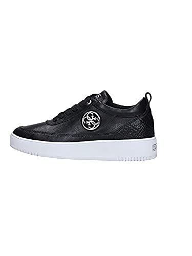 ZAPATILLAS GUESS - FLFVA3-LEA12-BLACK-T35: Amazon.es: Zapatos y complementos
