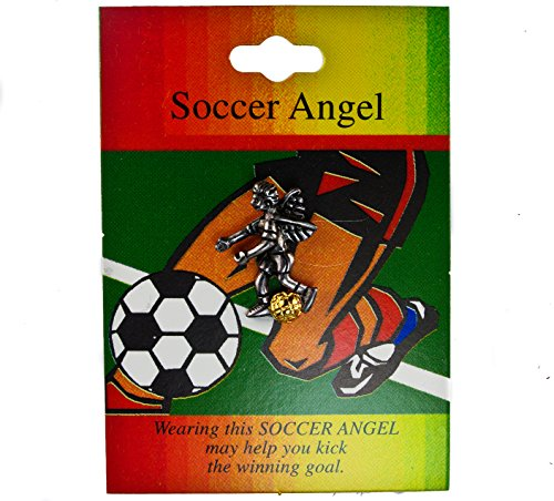 Sujak Military Items Soccer Player Guardian Angel Hat Lapel Pin