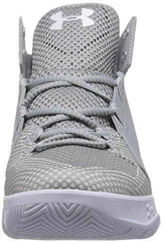 Aluminum White Men's Armour Gray Shoe Wolf Black Fade Aluminum Torch Under Graphite Basketball wT8FSpp