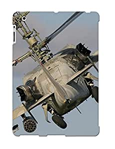 Exultantor Top Quality Rugged Russian Red Star Russia Helicopter Aircraft Aack Military Army Kamov Ka50 Case Cover Deisgn For Ipad 2/3/4 For Lovers