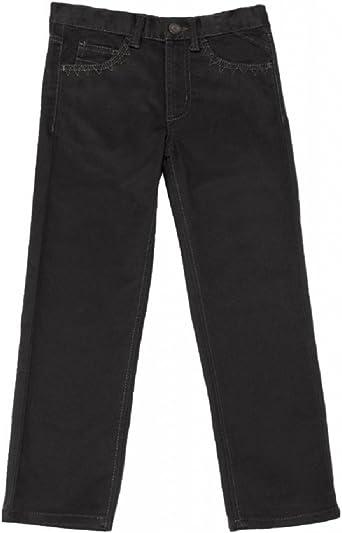 Sizes Attire Boys New Jeans Brown Cotton Rich Slim Fit Denim Jeans 4-14 Years