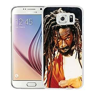 Beautiful Designed Cover Case With Buju Banton Dreadlocks Look Beard Background (2) For Samsung Galaxy S6 Phone Case