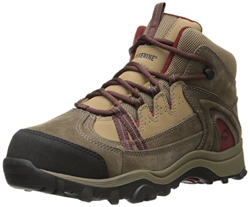 Wolverine+Women%27s+W02210+Maggie+Safety+Toe+Work+Boot%2C+Brown%2C+9+M+US