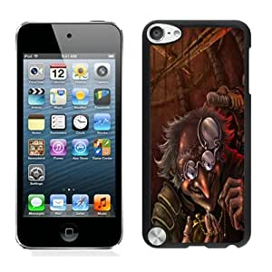 Nice Designed Phone Case With Evil Old Man Cover Case For iPod Touch 5th Black Phone Case CR-164