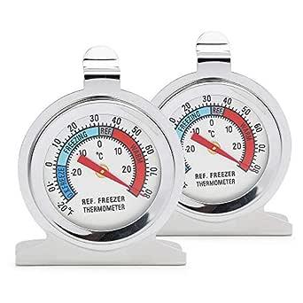 Color You termómetro para nevera de acero inoxidable con gancho ...