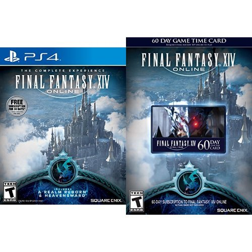 Final Fantasy XIV Online: 60 Day Time Card [Online Game Code] - Final Fantasy Realm Reborn Code