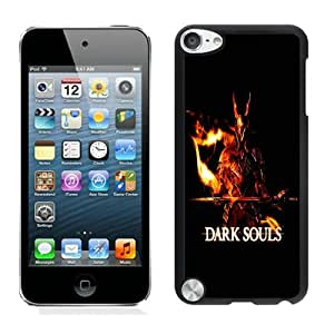 Hot Sale iPod Touch 5 Screen Cover Case With dark souls 03 Black iPod Touch 5 Case Unique And Beautiful Designed Phone Case