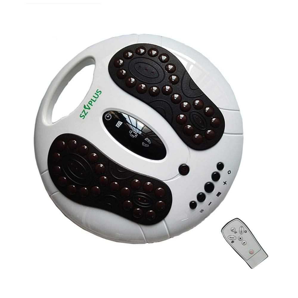 GLgl Foot Massager, Infrared Circulator Booster Reflexology Fatigue relieves Nerve Relaxation Pressure, Promotes Blood Circulation and Foot Massage Pain